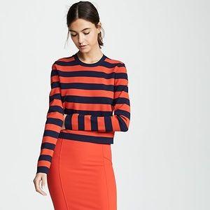 Veronica Beard Broom Stripe Sweater